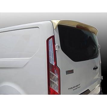 AutoStyle A/437 Alerón de techo para Transit Custom 2012 - 2018 (con puerta trasera), color negro: Amazon.es: Coche y moto