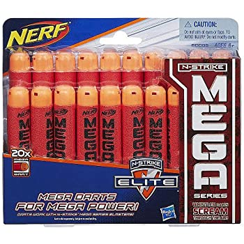 Official Nerf N-Strike Elite MEGA Dart 20-Pack Refill