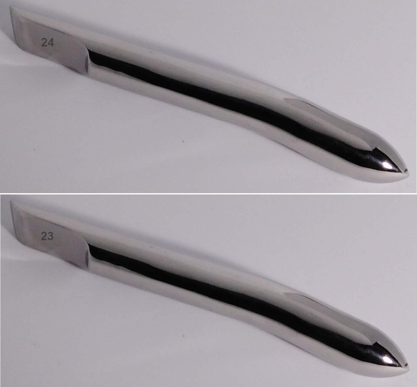 Dilatador uterino Hegar 190 mm x 21mm Ø forma cónica