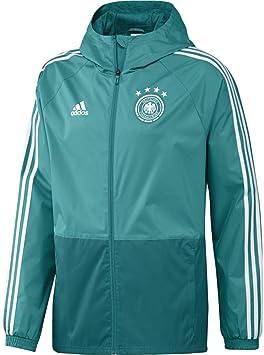 adidas DFB Rain Jacket Veste de Pluie XS EQT Green s16White