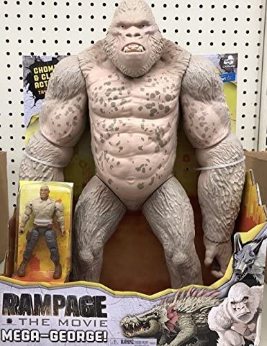 Amazon Com Lanard 31109 Rampage The Movie Mega George Toys Games