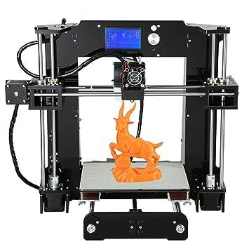 L.J.JZDY Impresora 3D Impresora 3D A n e t A6 Kit de Bricolaje ...