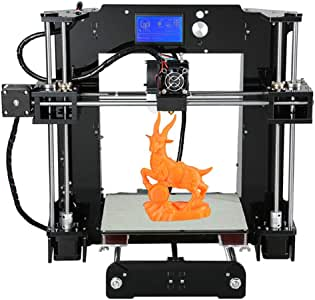 MYD Impresora Impresora 3D Anet A6 Kit de Bricolaje Juego de Auto ...