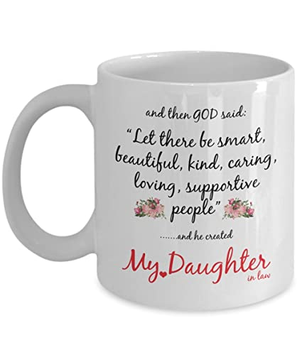 Amazoncom Daughter In Law Gift God Created My Daughter In Law