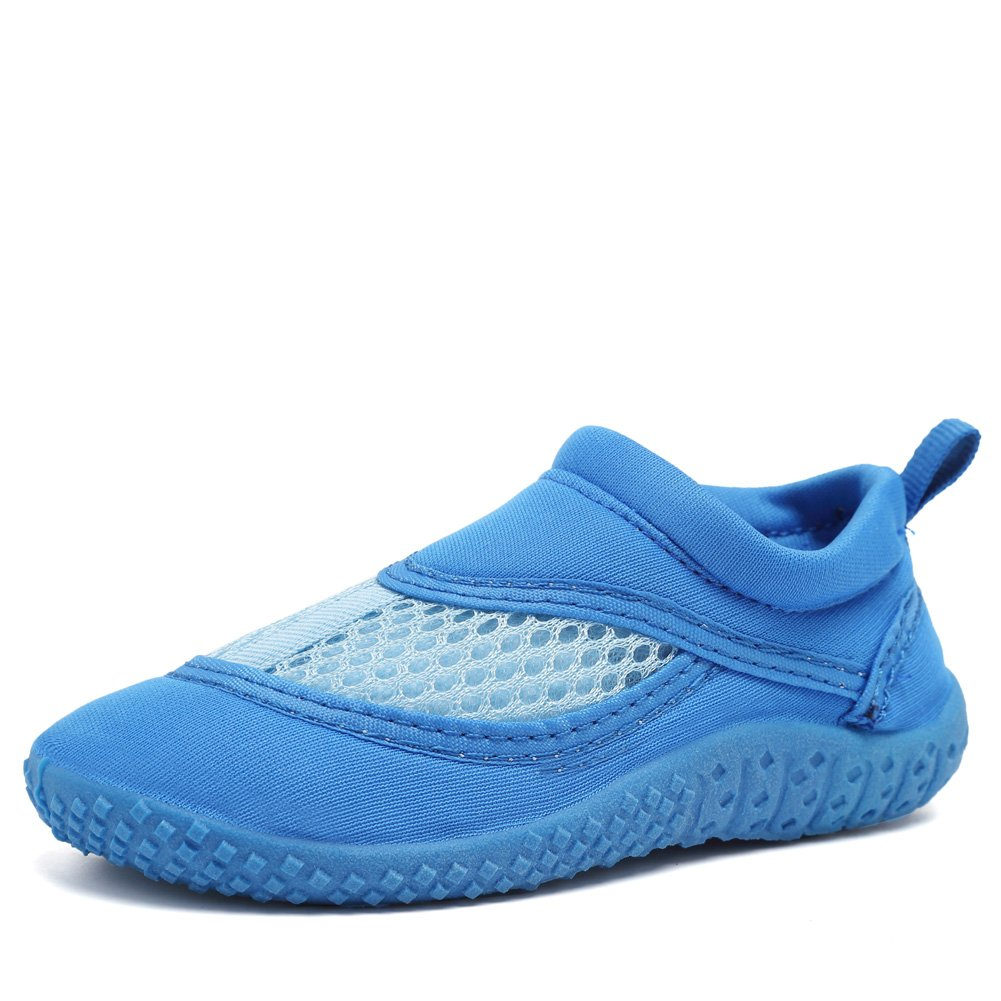 CIOR Fantiny UnisexToddler Aqua Water Shoes Quick Drying Swim Beach Sports for Baby Boys and Girls (Toddler/Little Kid) SAIP01 Navy 25