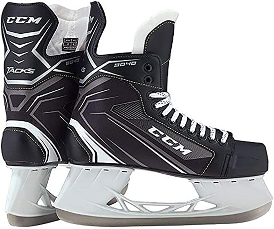 CCM Unisex SK9040 Player Tacks JR Hockey Skate, Junior