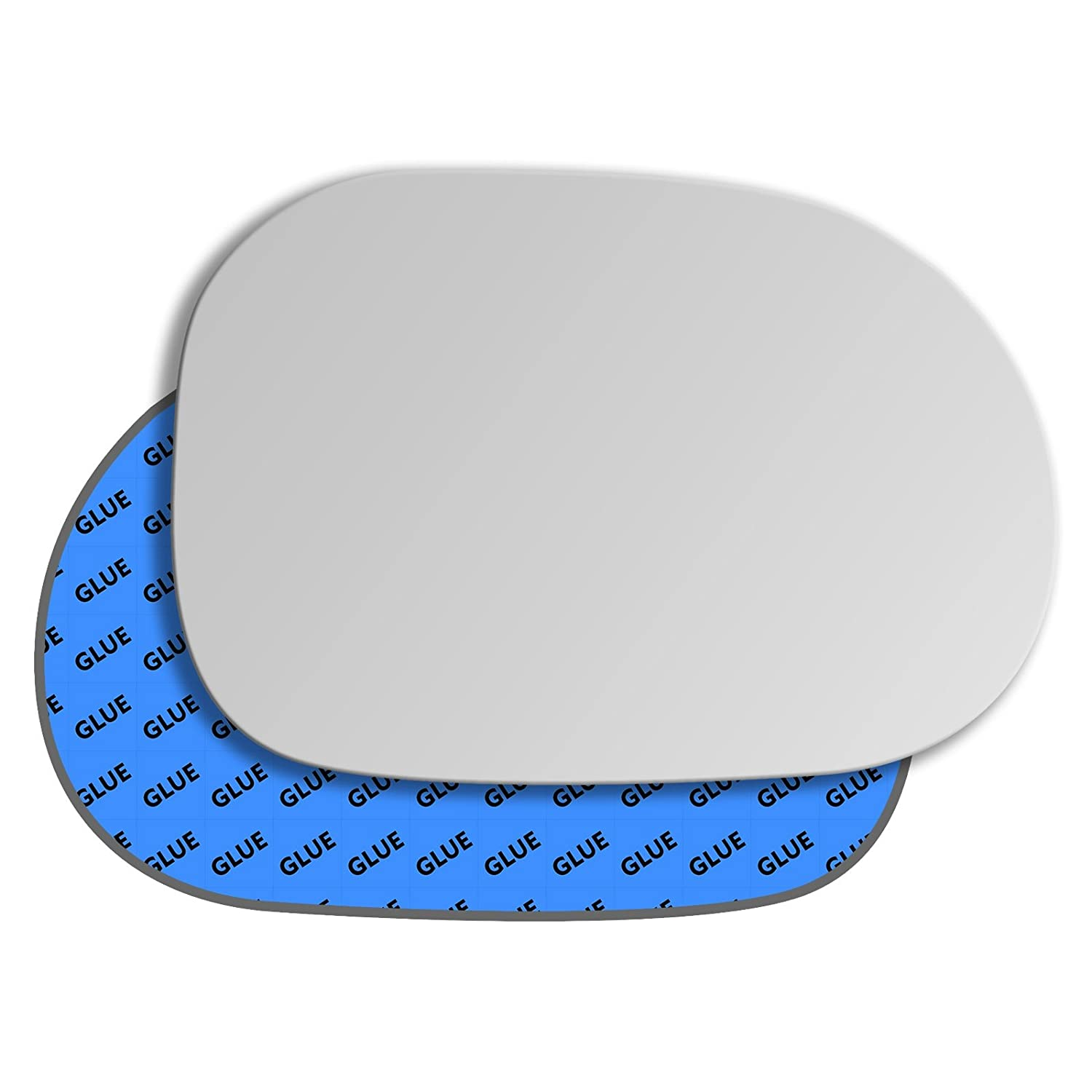 Hightecpl 80RS Right Driver Side Convex Door Wing Mirror Glass Channel Autoparts Limited