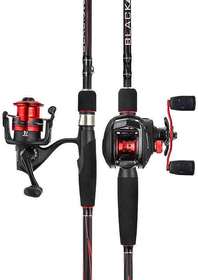 Blue-shore Black Max Bmax Baitcasting Lure Fishing Rod 1.98M 2.13M 2.44M Ml M Mh Power Carbon Spinning Fishing Rod