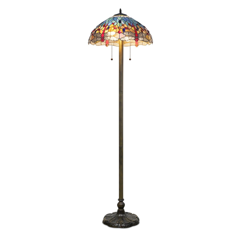 1908 Studios Dragonfly Floor Lamp