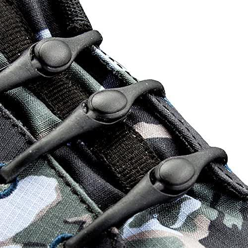 The Original HICKIES 1.0 Unisex One-size Fits All Elastic No-Tie Shoelaces For All Types Of Shoes Black - (14 HICKIES)