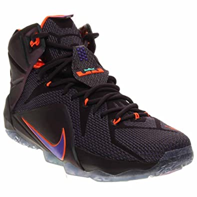 d8528b8d22ec2 Image Unavailable. Image not available for. Color  nike lebron XII 12 mens  hi top basketball trainers 684593 sneakers shoes james ...