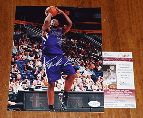 Tyreke Evans Autographed Photo - 8x10 + COA #F64768 - JSA Certified - Autographed NBA Photos (Photo Tyreke Evans)