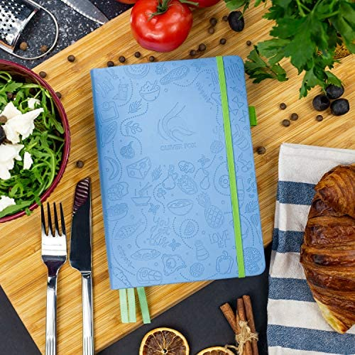 Clever Fox Food Journal - Daily Food Diary, Meal Planner to Track Calorie and Nutrient Intake, Stick to a Healthy Diet & Achieve Weight Loss Goals 8