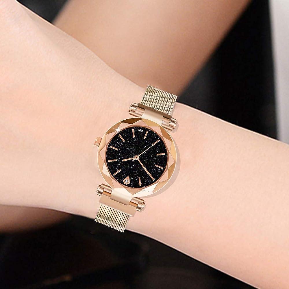 Sunnywill Relojes Mujer Elegante Relojes para Mujeres Damas Reloj ...