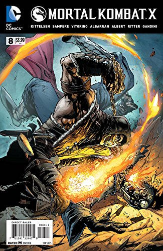 Mortal Kombat X #8 Comic Book