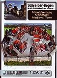 Aue Verlag Schreiber-Bogen Card Modelling Medieval Town