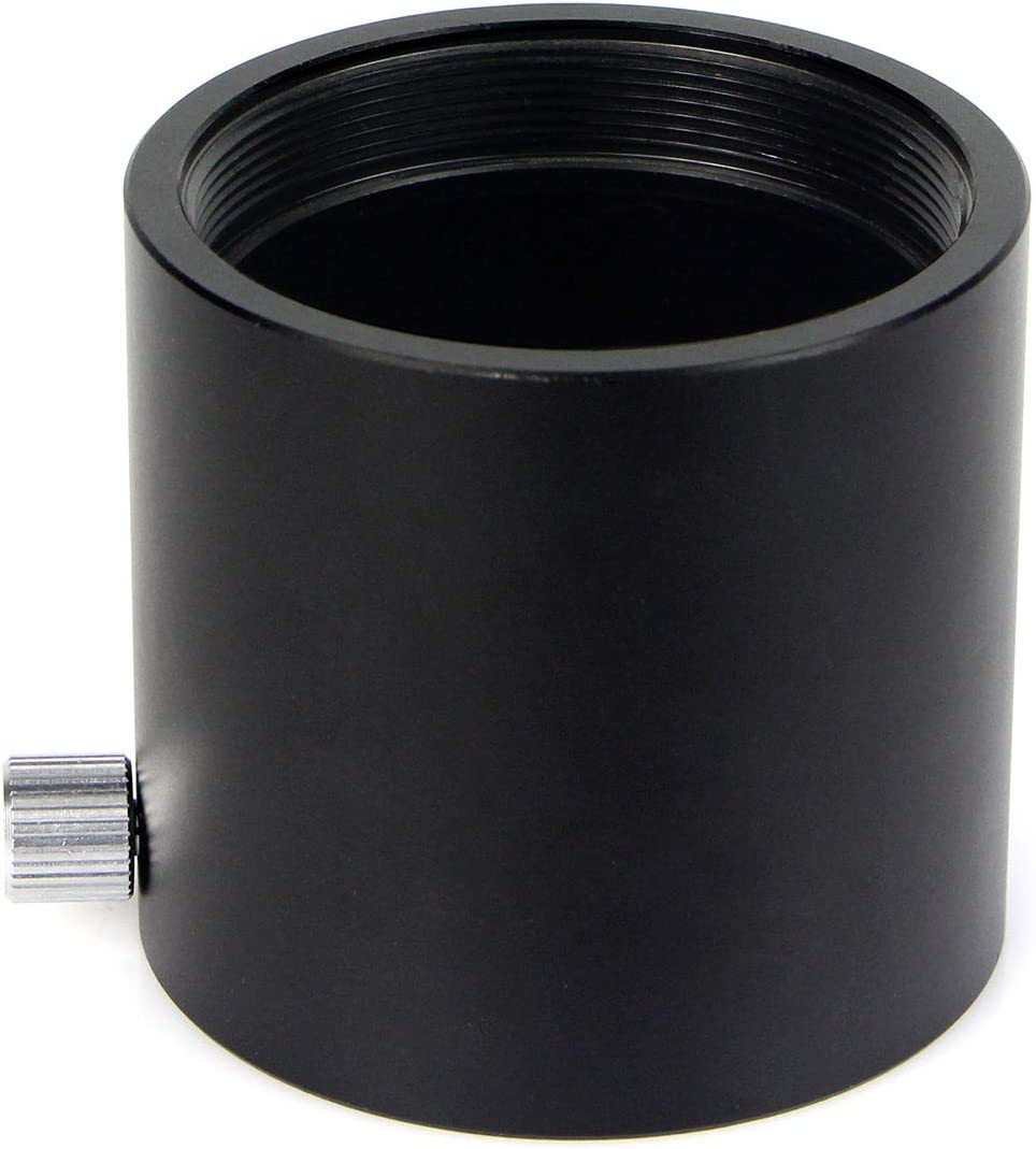 SVBONY 2 inches Nosepiece Fits Interal 2 inches SCT Telescope Adapter Rear Port Adapter Visual Back SCT to 2 inches Eyepiece for Schmidt-cassegrains