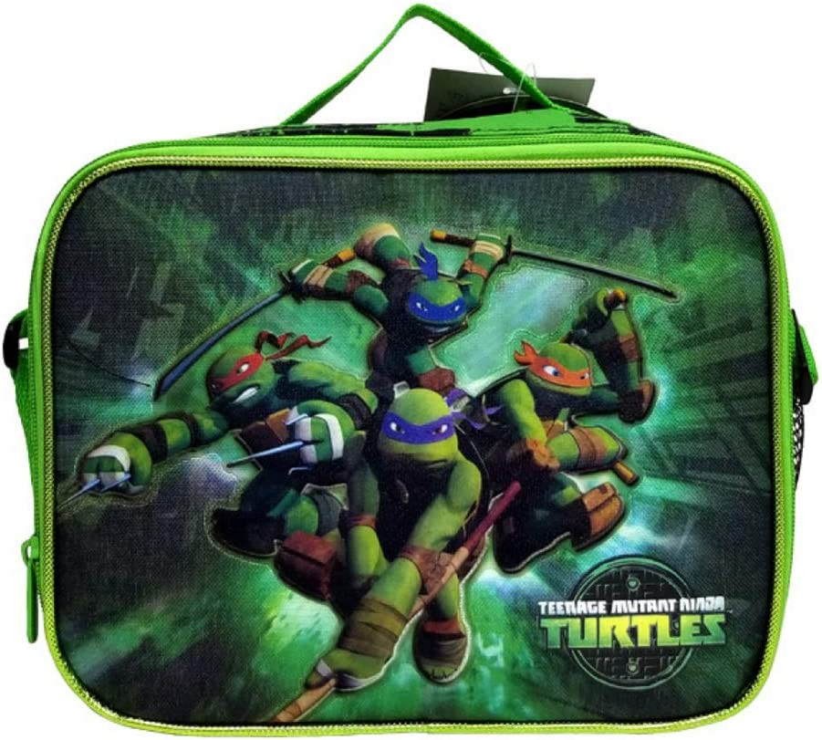 Teenage Mutant Ninja Turtles Soft Insulated School Lunch Box