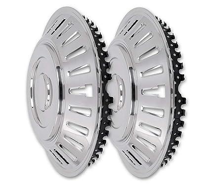 Hansen Styling Parts - Tapacubos de acero inoxidable curvado ...