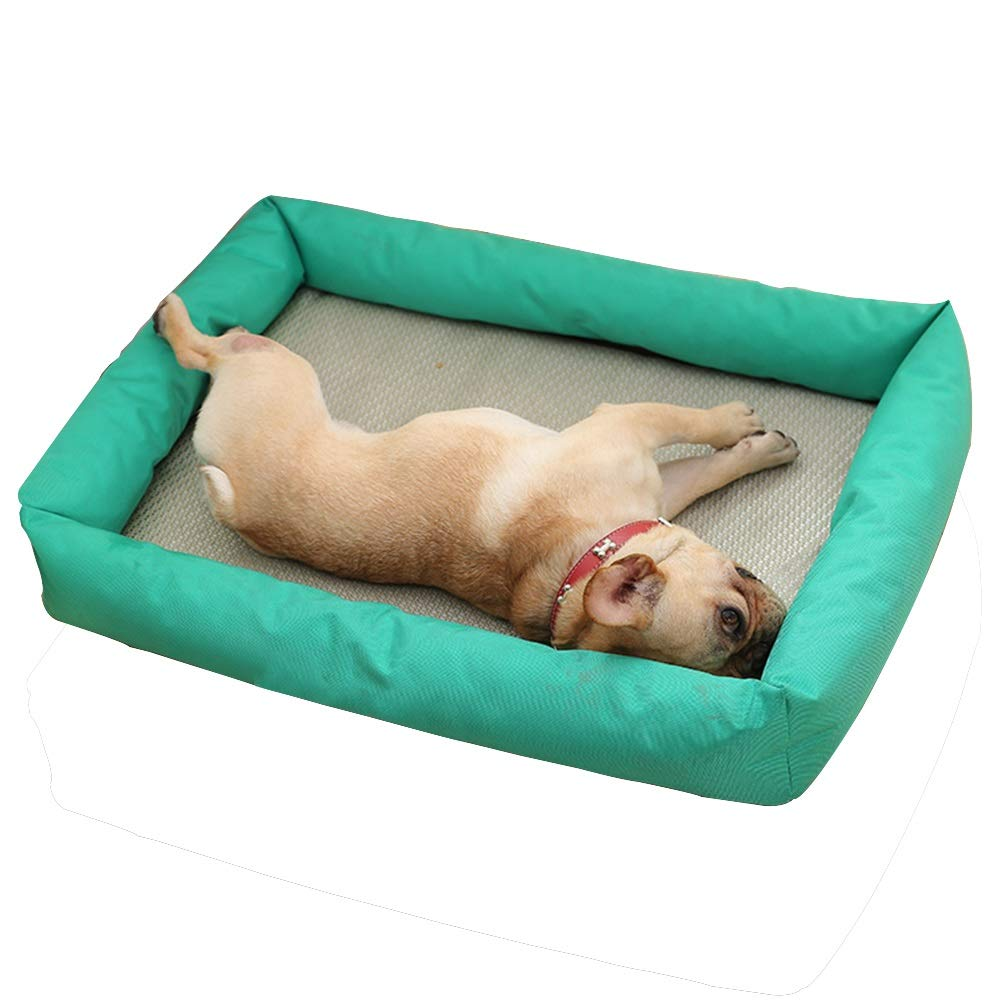 1001XS Pet Nest, Kennel Summer Sleeping, Cold Nest, Dog House, Indoor Large Dog Pet Water Bed, Summer Dog Supplies (color   1002XS)