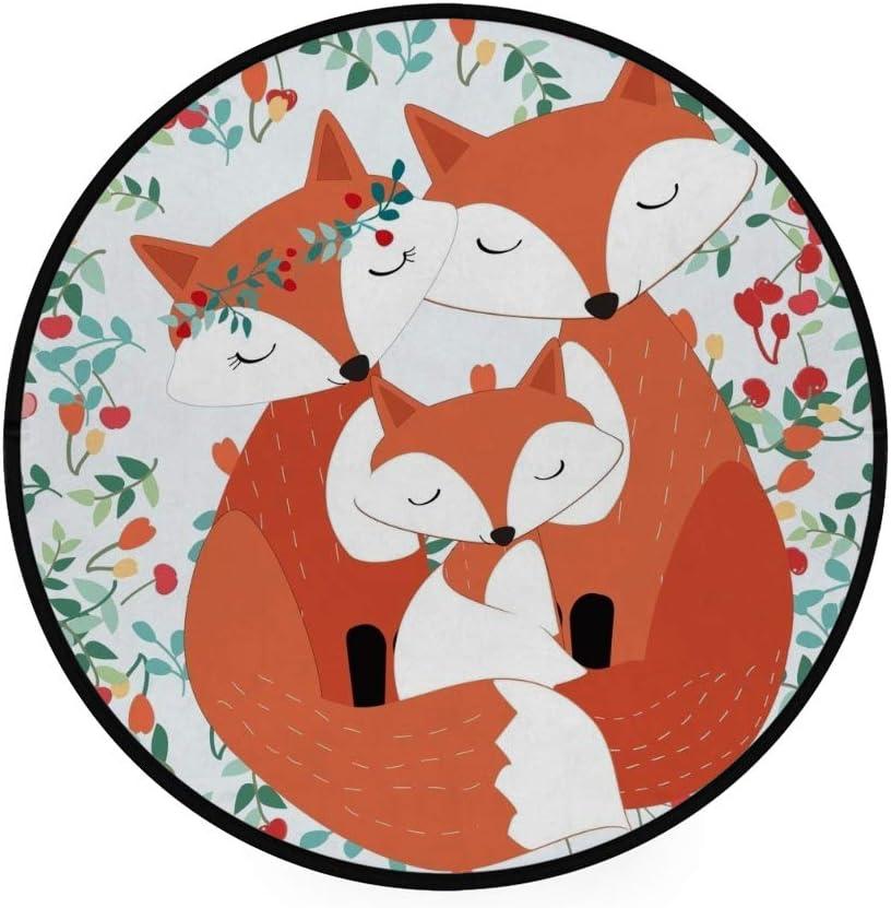 Orediy Grand tapis en mousse souple Motif h/érisson mignon et l/éger Tapis de jeu pour enfants Tapis de sol Tapis de yoga Tapis de chambre pour salon 160 x 122 CM