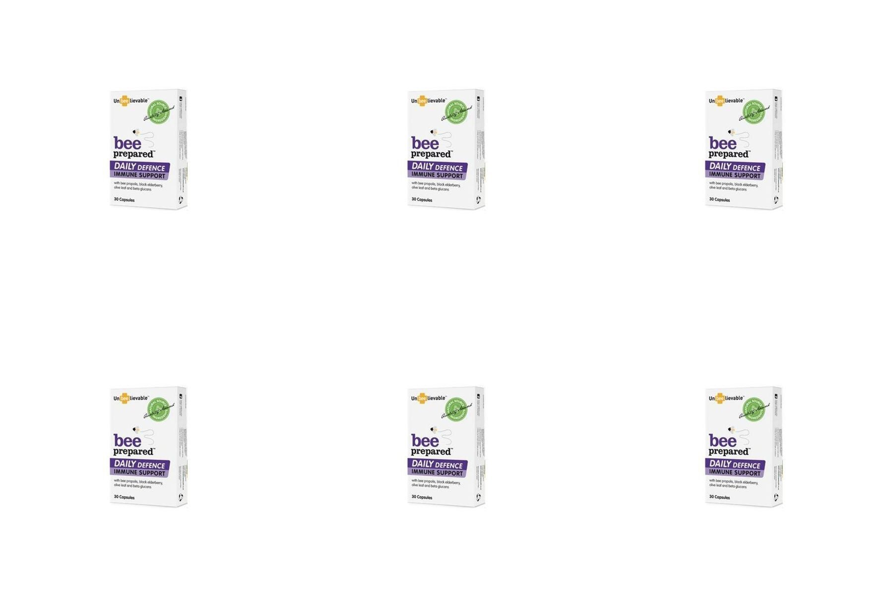 (6 PACK) - Unbeelievable/H Immune Support Daily Defense | 30s | 6 PACK - SUPER SAVER - SAVE MONEY