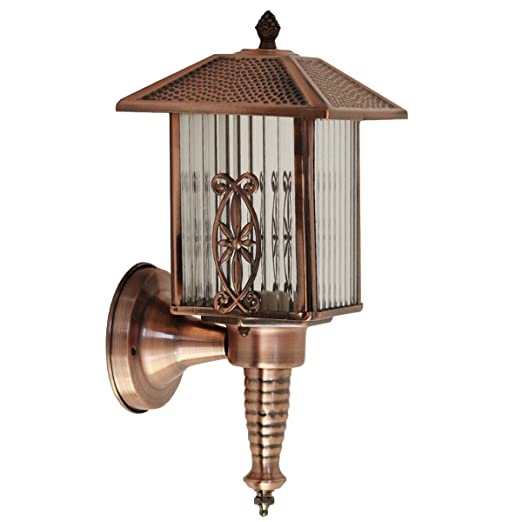 Outdoor Copper Wall Light,Vintage Outdoor Lantern,Outdoor Wall Lantern  E27,High