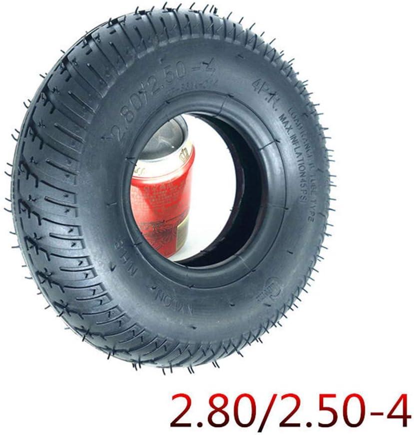 SUIBIAN Neumáticos para Scooters eléctricos, 9 Pulgadas 2.80/2.50-4 Neumáticos Interiores y Exteriores, adecuados para Personas Mayores Scooters/Silla de Ruedas electrica,Outer Tire*1