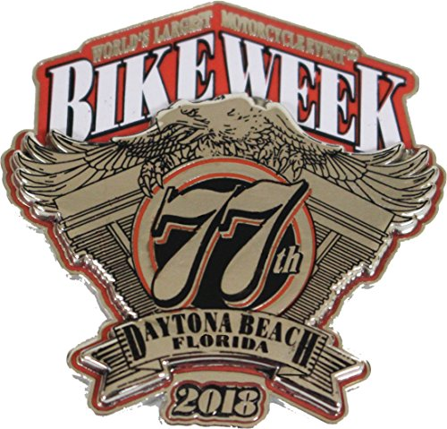 Biker Life USA 2018 Bike Week Daytona Beach Official Logo (Bike Pin)