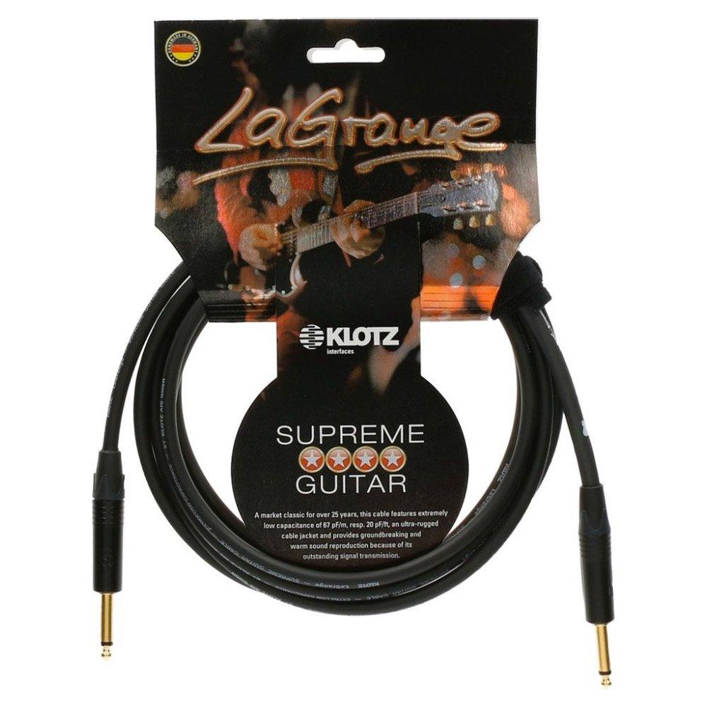 Klotz LAPP0450 LaGrange Guitar Cable, ¼-Inch Straight, 15ft, 15 ft. (