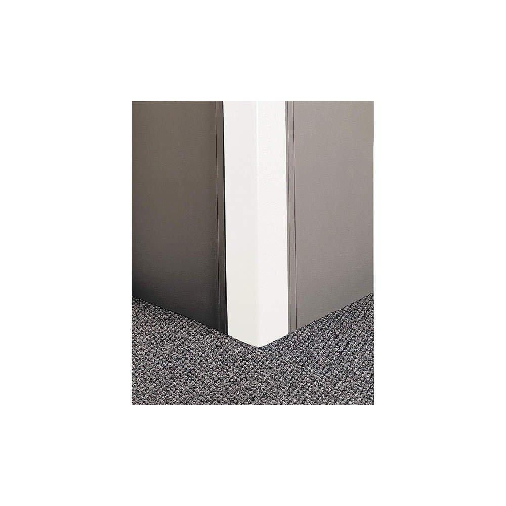 Pawling - CGP-7-8-301 - Corner Grd, 96in.H, White, PETG/Aluminum