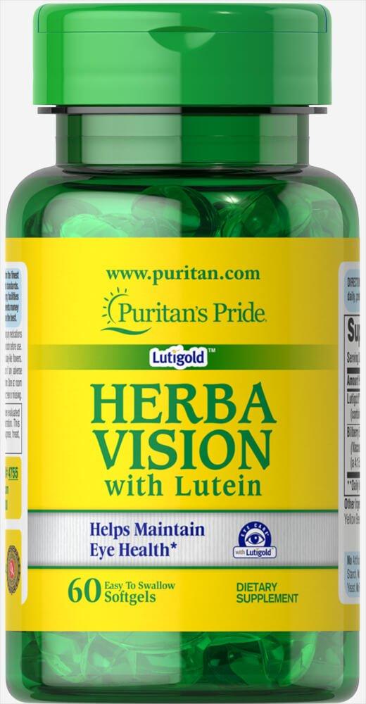 Herbavision con Luteina y Arandano Negro 60 perlas. 1 und.: Amazon.es: Salud y cuidado personal
