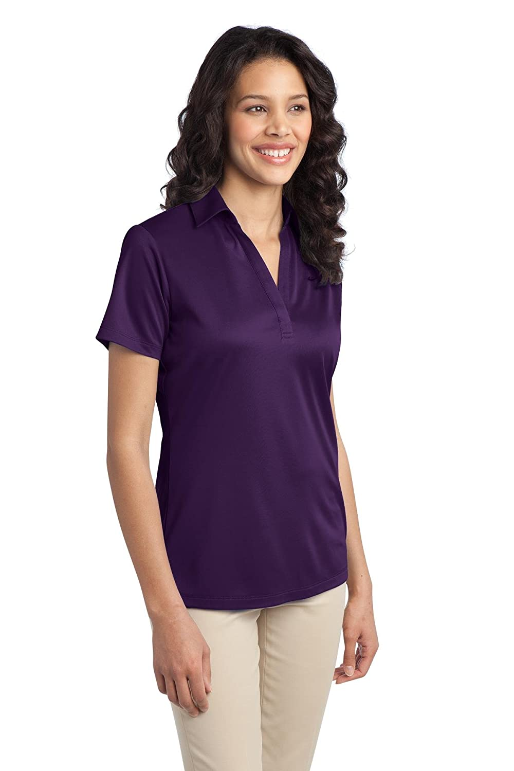 Port Authority Womens Wicking Performance Polo Shirt