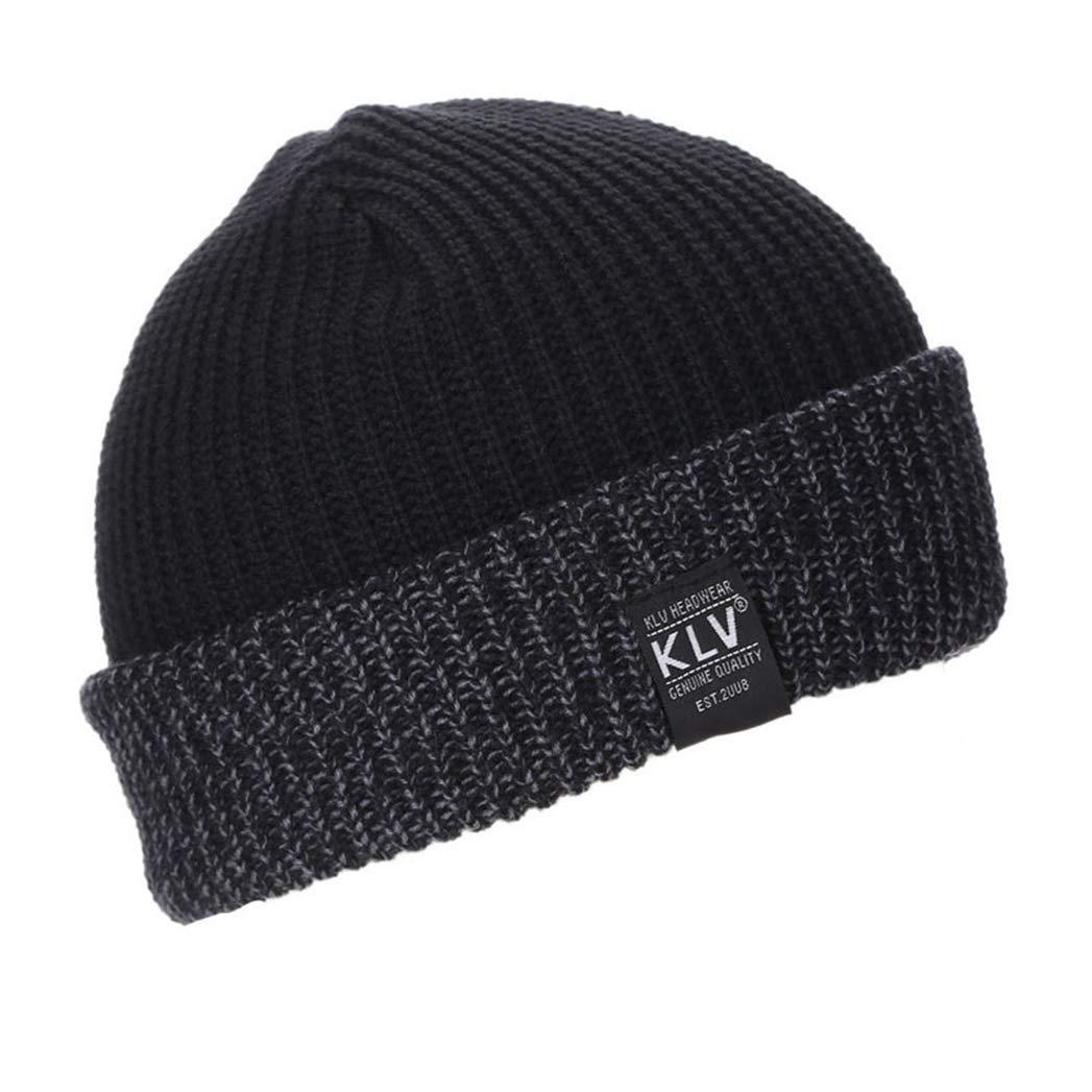 Unisex Beanies Knit Hat,Womens Warm Winter Knit Hat Fashion Cap Hip-hop Ski Beanie Hat Fashion Style