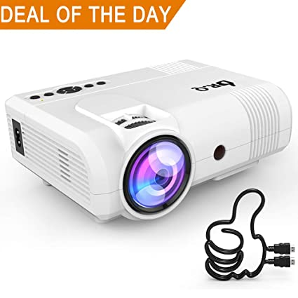 Drq Projector L8 Mini Projector 3800 Lumen Video Amazoncouk
