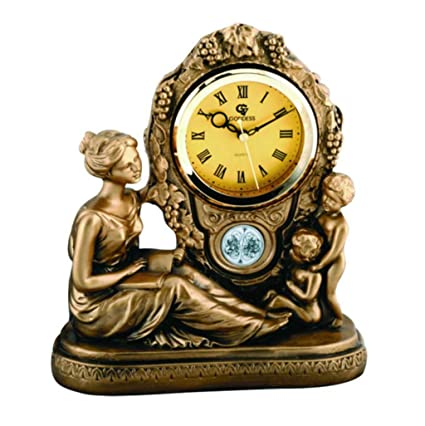 Family Fireplace Clocks Table Clock Classic Tick Bedroom Bedside Clock Decoration ó N of The Living
