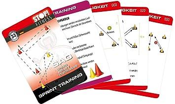 STOP! - Cartas para entrenar (incluye conos, versión en ...