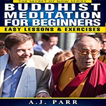 Buddhist Meditation for Beginners: The Secret of Now, Book 2 Audiobook by A.J. Parr Narrated by Nathan Rollins