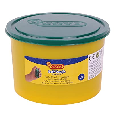 Jovi - Soft Dough Blandiver, Bote de 460 g, Color Verde (46004): Juguetes y juegos