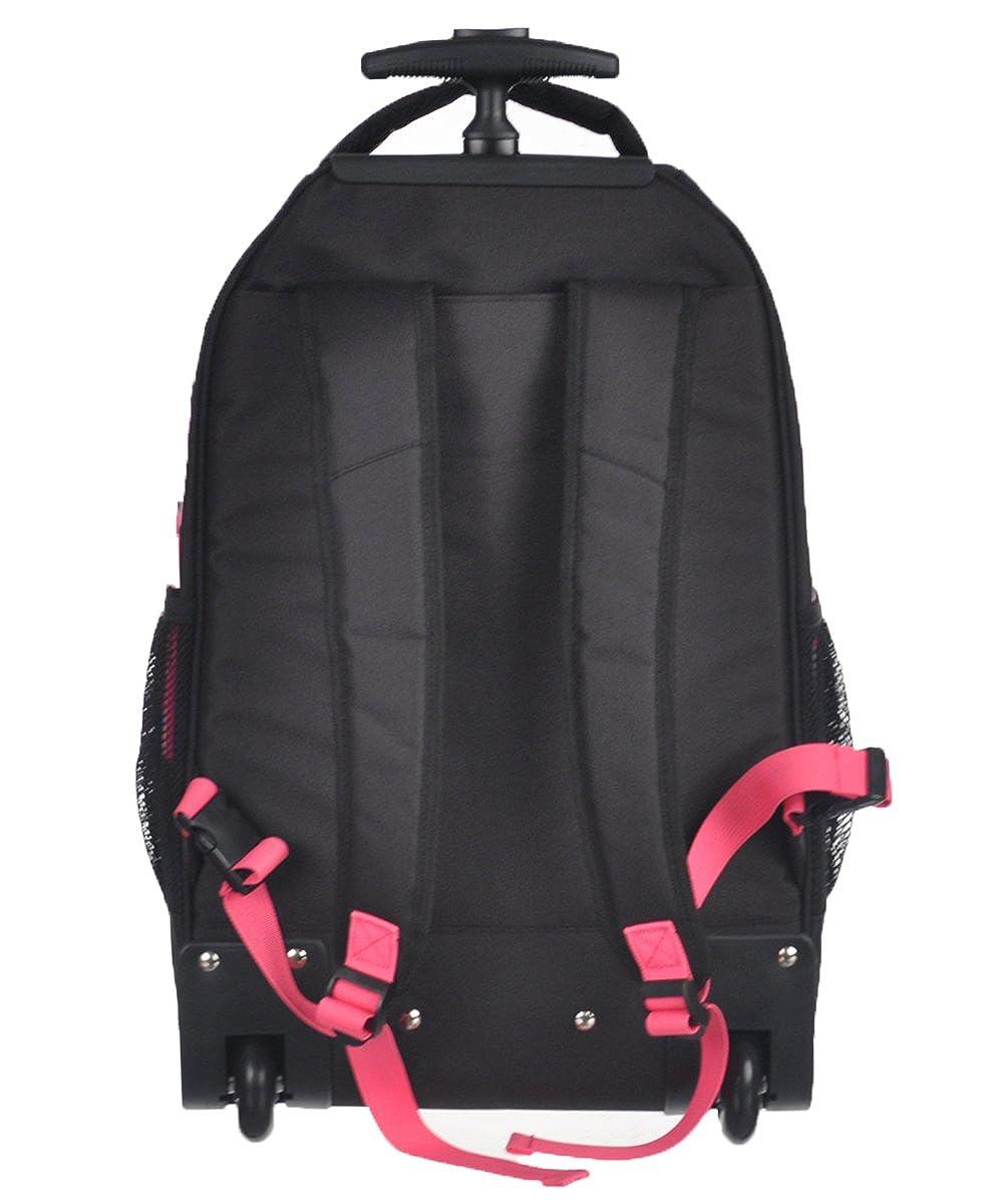 Amazon.com  Nike Extra-Large Wheeled Backpack - black pink 355daffc5ed73