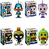 Pop! Animation: Duck Dodgers - Marvin Martian, K-9, Space Cadet, Duck Dodgers Vinyl Figures! Set of 4