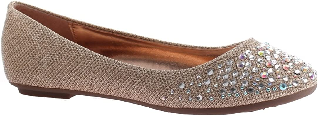 Madeline Girl Womens Snazzy Flat Shoes