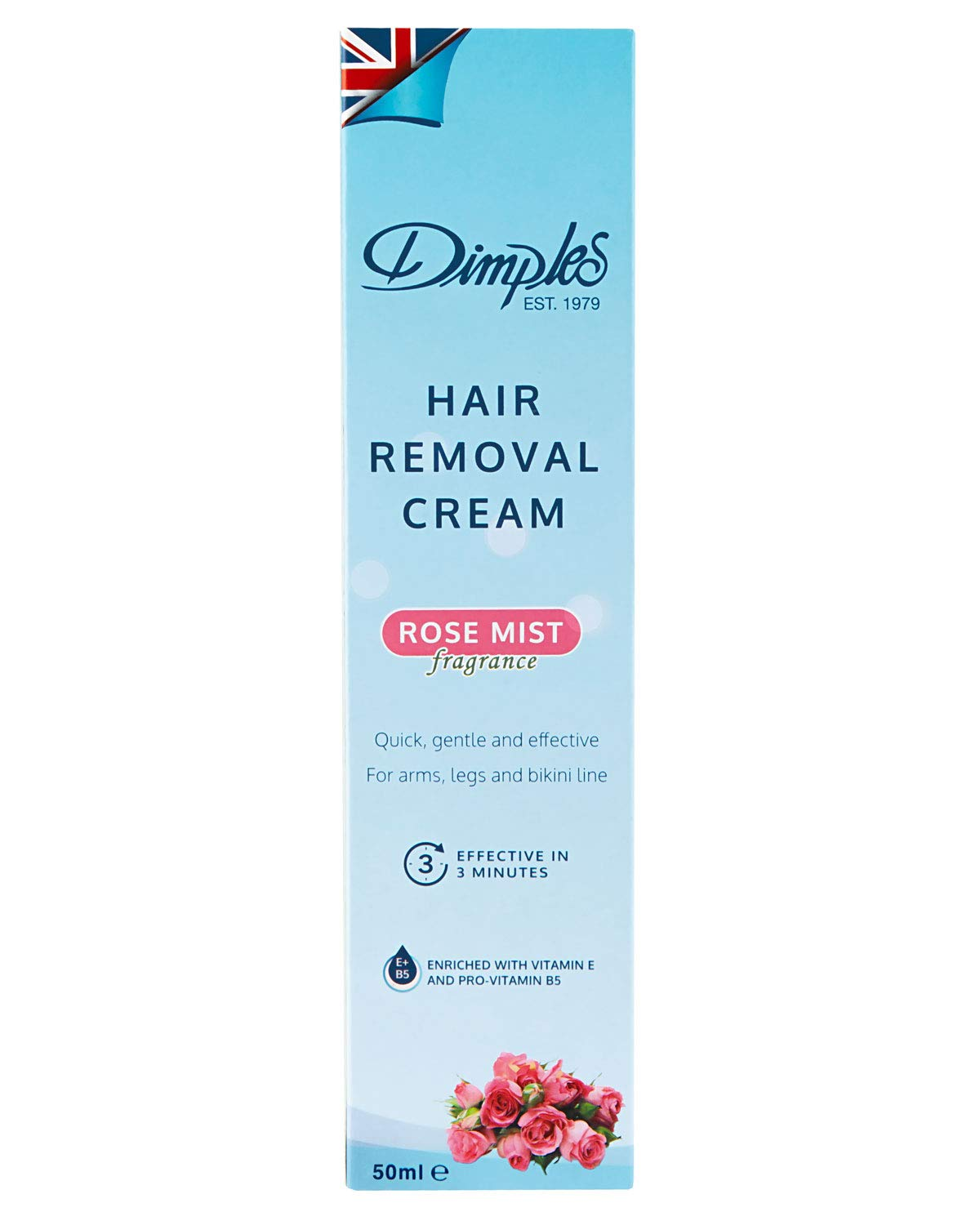 Dimples Hair Removal Cream Rose Mist 50 Ml Buy Online In Cayman