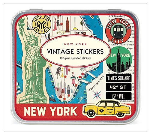 Cavallini Papers New York City Stickers