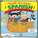 Teach Me More Spanish Audiobook by Judy R Mahoney Narrated by Anna Diaz