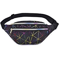 Holográficos Bags Riñonera Running Impermeable con 3 Bolsillos
