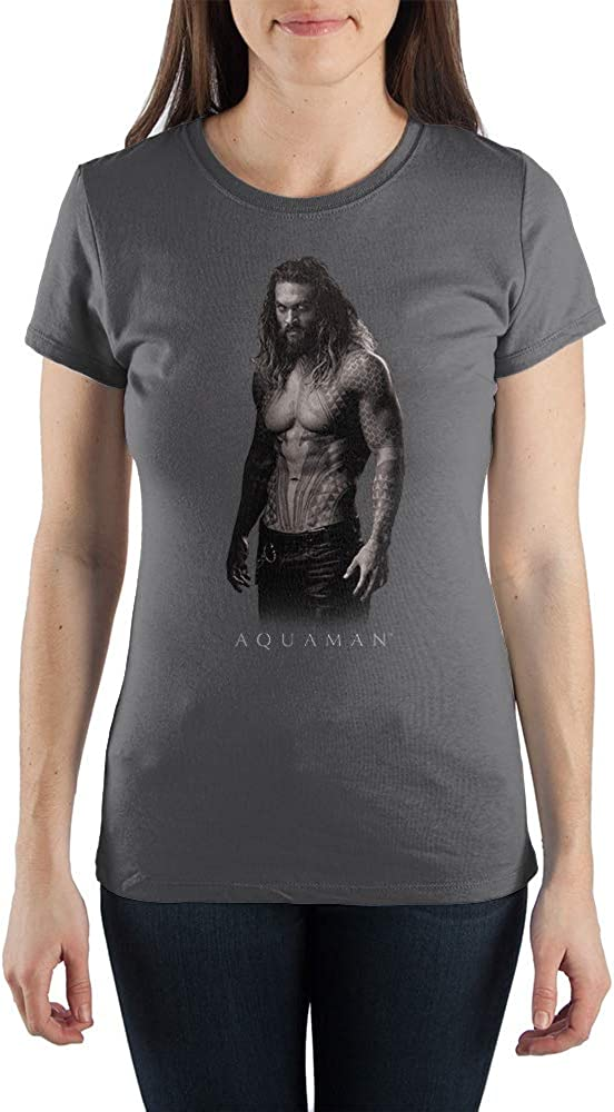 Juniors DC Comics Apparel Aquaman Shirt DC Comics Tee Aquaman Tshirt Aquaman Gift