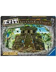 Ravensburger 18956 – EXIT adventskalender – den dolda mayatempel – 24 pussel för exxit-entusiaster från 10 år