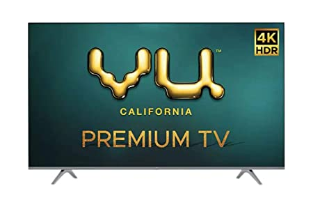 VU 126 cm  50 Inches  4K Ultra HD Smart Android LED TV 50PM  Black   2020 Model  Smart Televisions