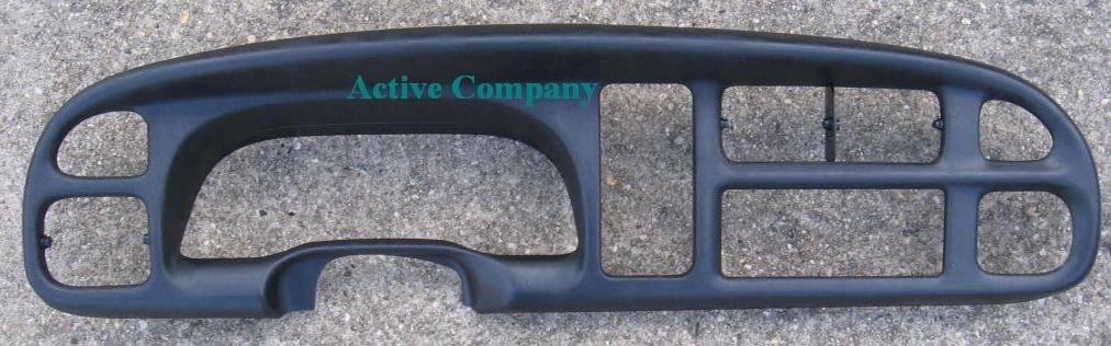 Full Replacement 1998-2001 1999 2000 Dodge Ram 1500 Dash Bezel radio dashboard instrument cluster gauge trim dash board - 1998-2002 Dodge Ram 2500 3500 pickup truck - by Active Company